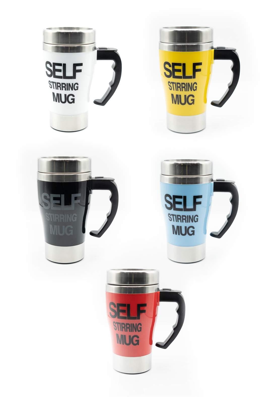 كوب للقهوة ذاتي المزج محمول وحافظ للحرارة متعدد الالوان