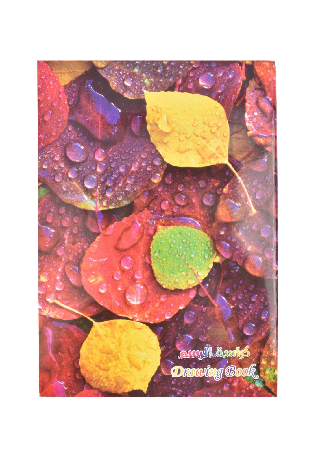 Arabic Drawing Book With A Drawing - Round Leaf - 100 Sheets دفتر رسم 100 ورقة