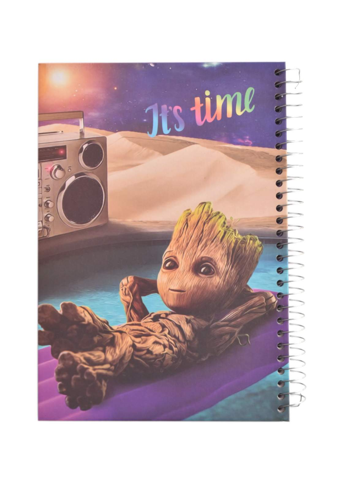 Arabic Spiral Copybook With A Drawing - Tree - 200 Sheets دفتر  200 ورقة