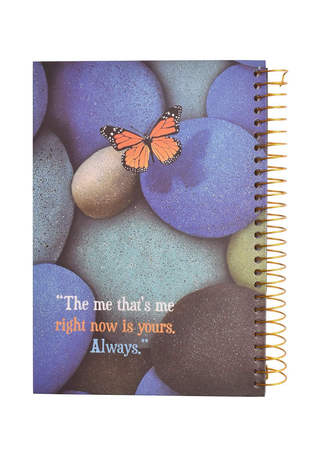 Arabic Spiral Copybook With A Drawing - Colored Stone - 96 Sheets دفتر  96 ورقة