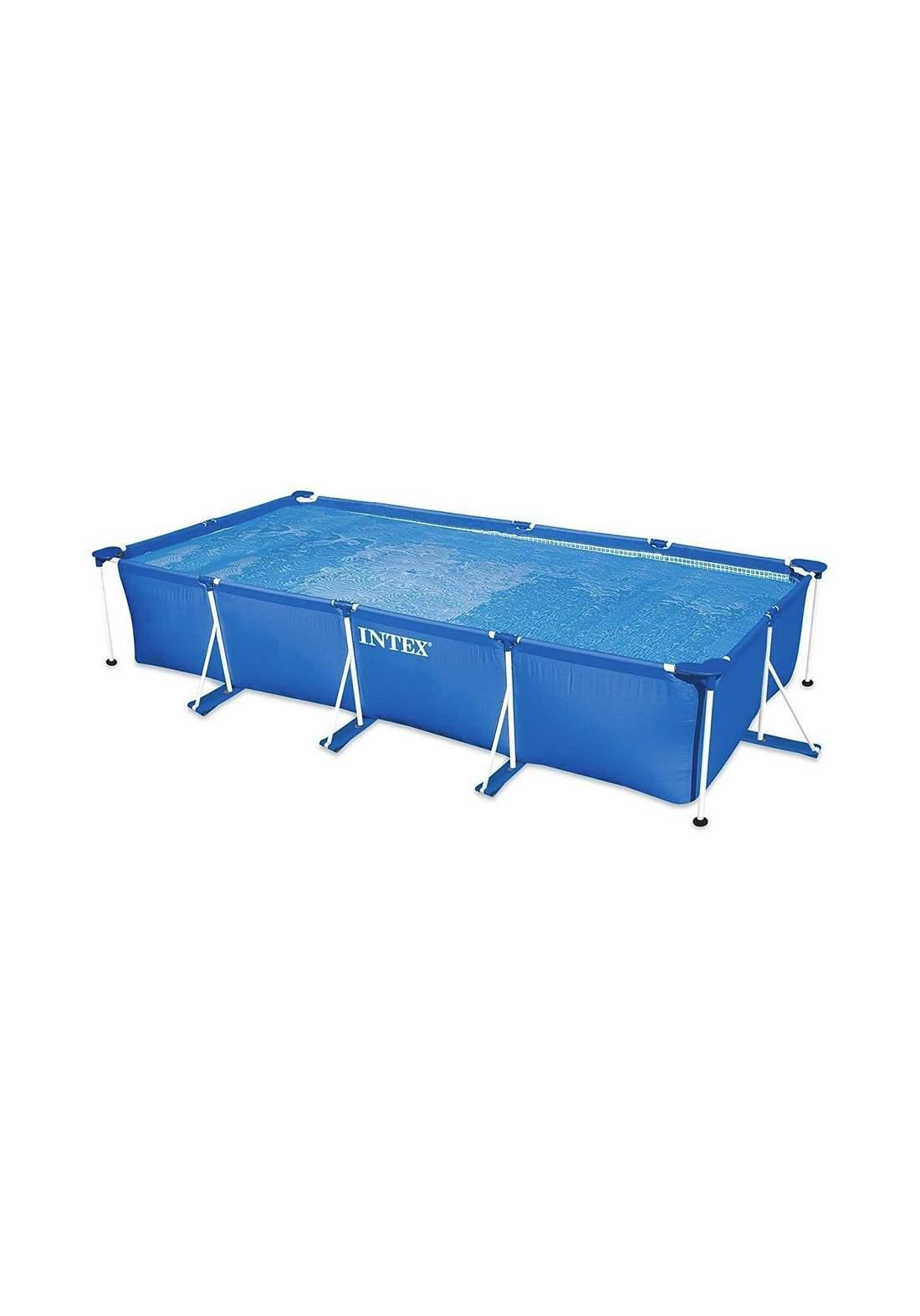Intex 28274 Big Rectangle Metal Frame Pool Set مسبح