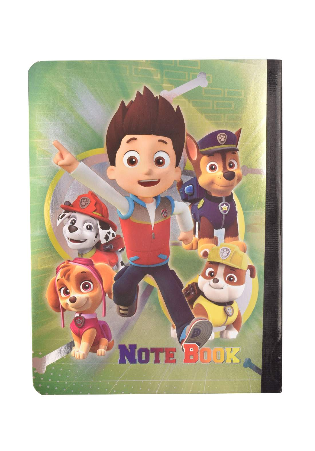 Arabic Cardboard Note Book With A Drawing -  Boy  - 96 Sheets دفتر  96 ورقة