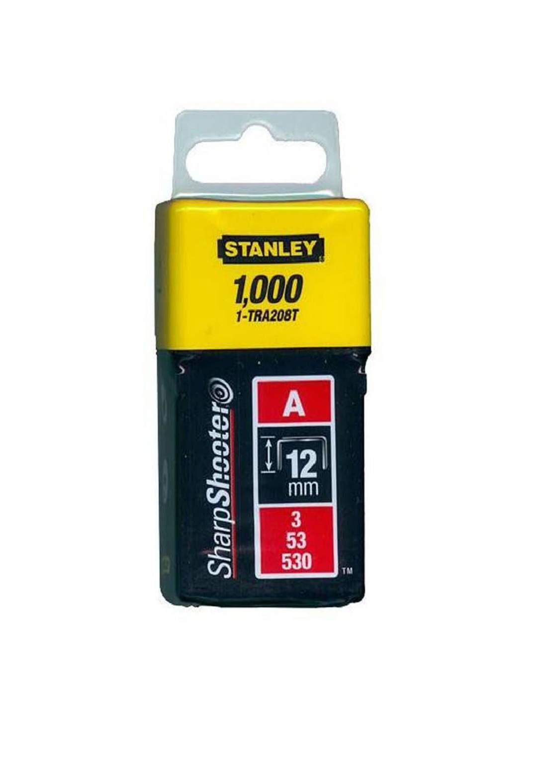 Stanley 1-TRA208T Light Duty Staples 12mm كلبسات