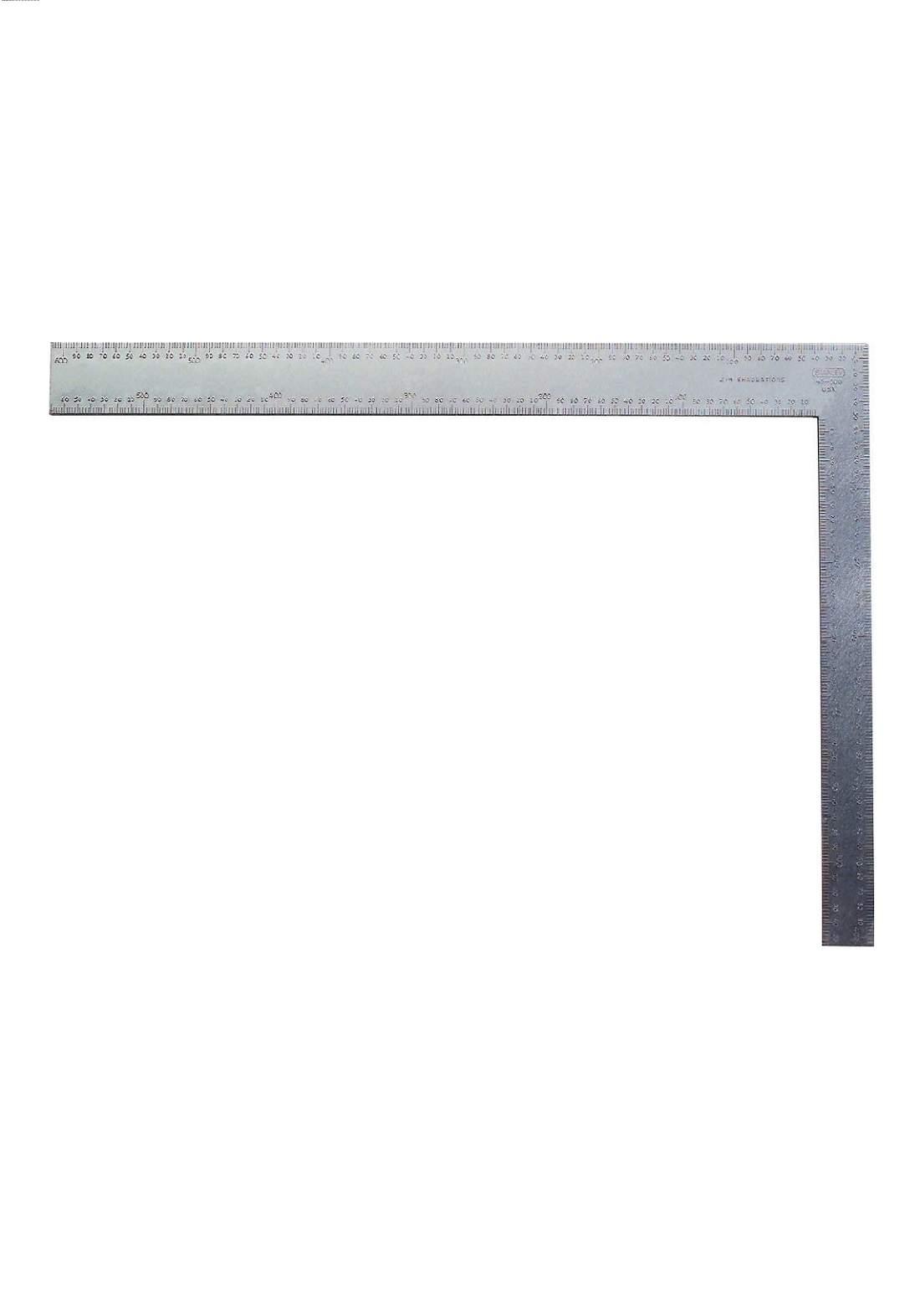 Stanley  45-600 Steel Square Aluminum Handle 12 Inch  كونية