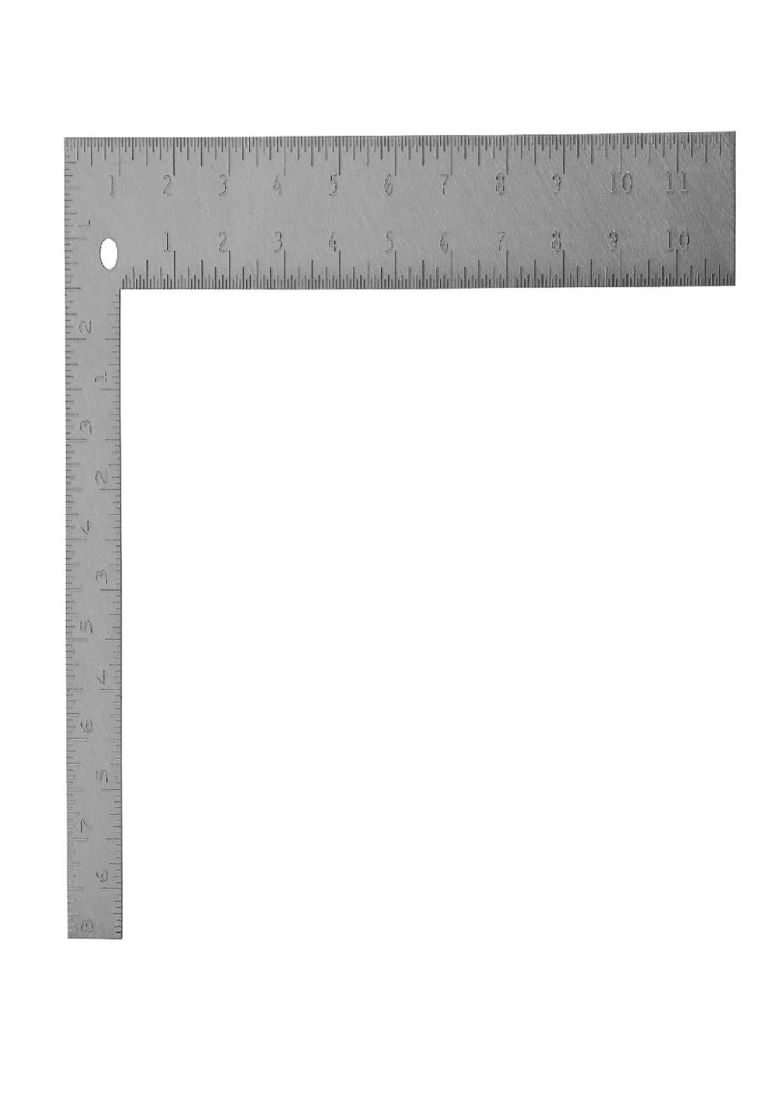 Stanley 45-912 Steel Square Aluminum Handle 12 Inch كونية