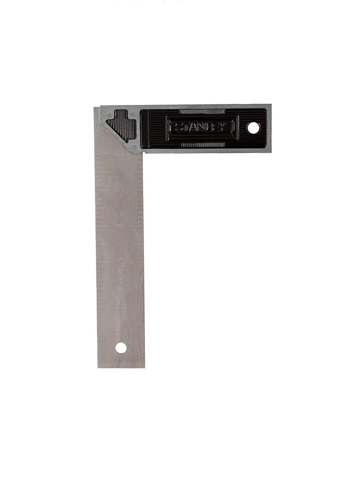 Stanley E-46530 Steel Square Aluminum Handle 15 cm كونية