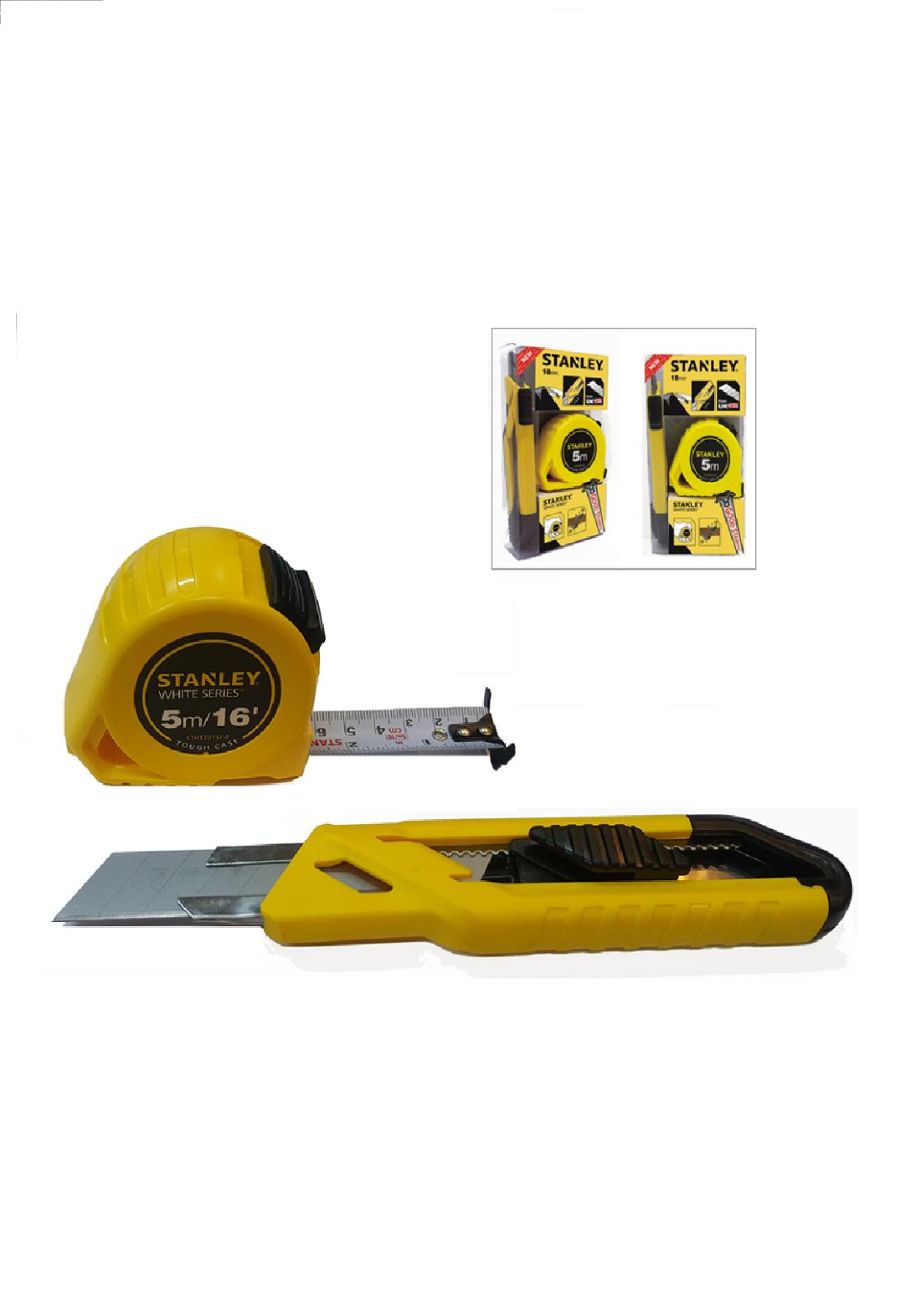 Stanley STHT74254-8  Measuring Tape 5M/E x 19mm سيت فيتة  5 م + كتر