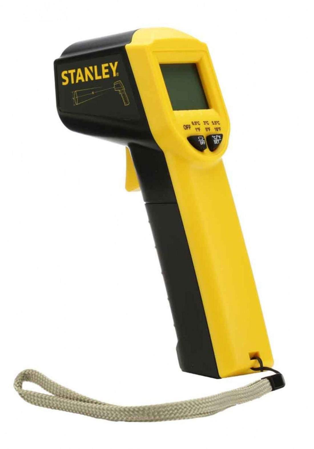 Stanley STHT0-77365 Digital Infrared Thermometer with -38°C to 520°C مقياس الحرارة الرقمي
