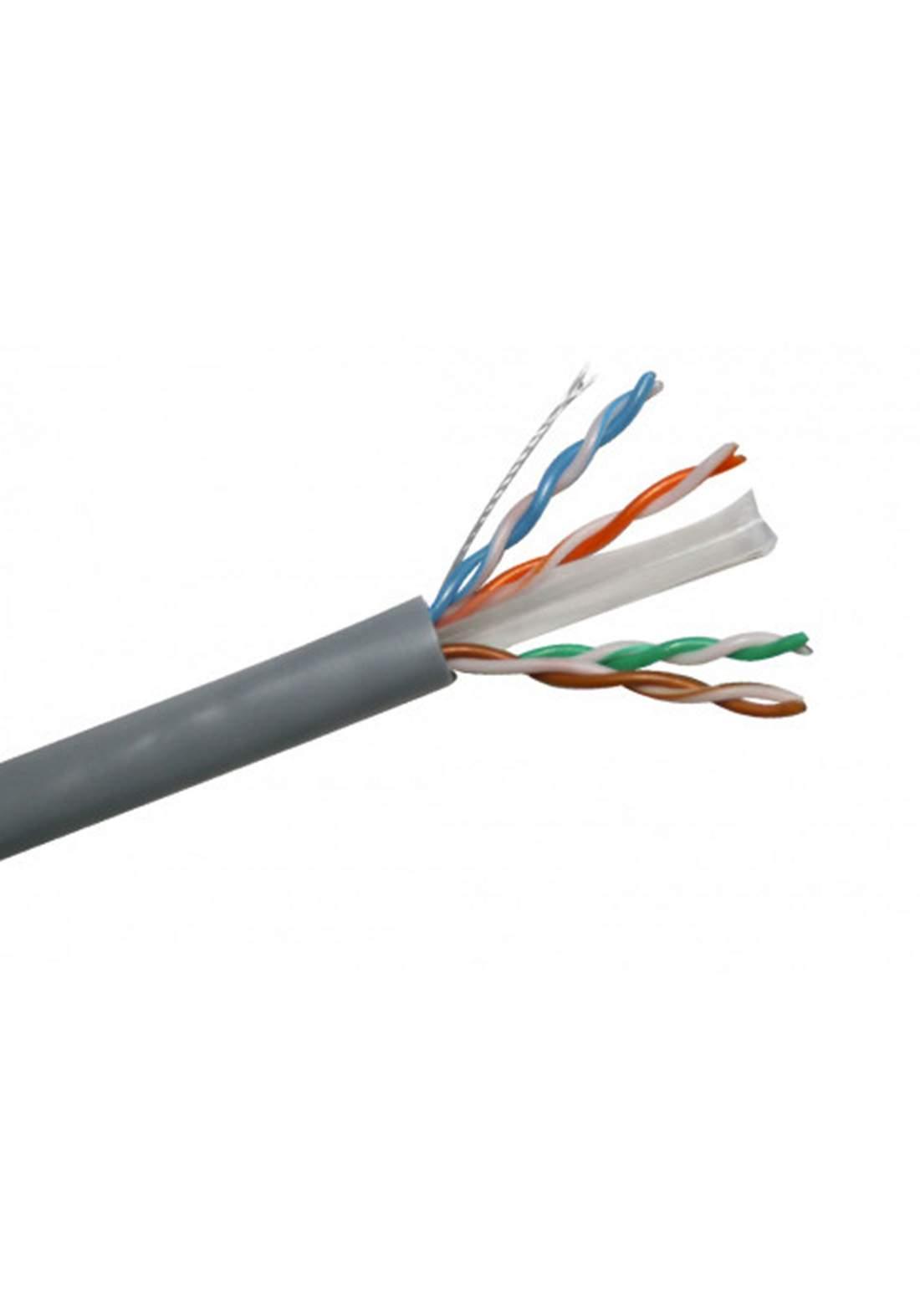 Aico Cat6 Lan Cable 30m - Black كابل ايثرنت