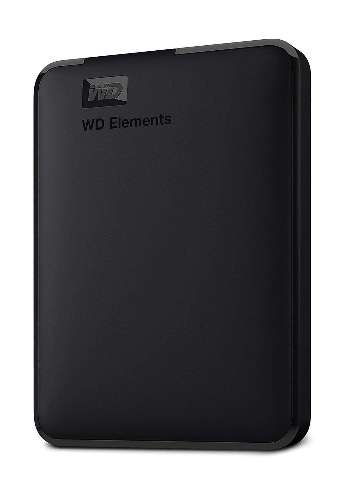 WD Elements 1TB Portable USB 3.0 External Hard Drive - Black هارد خارجي محمول