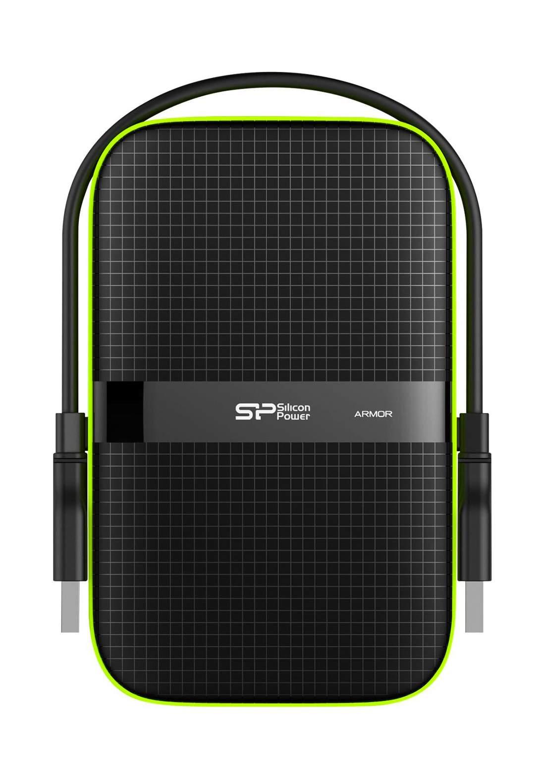 Silicon Power 5TB USB 3.0 Portable External Hard Drive - Black هارد خارجي محمول