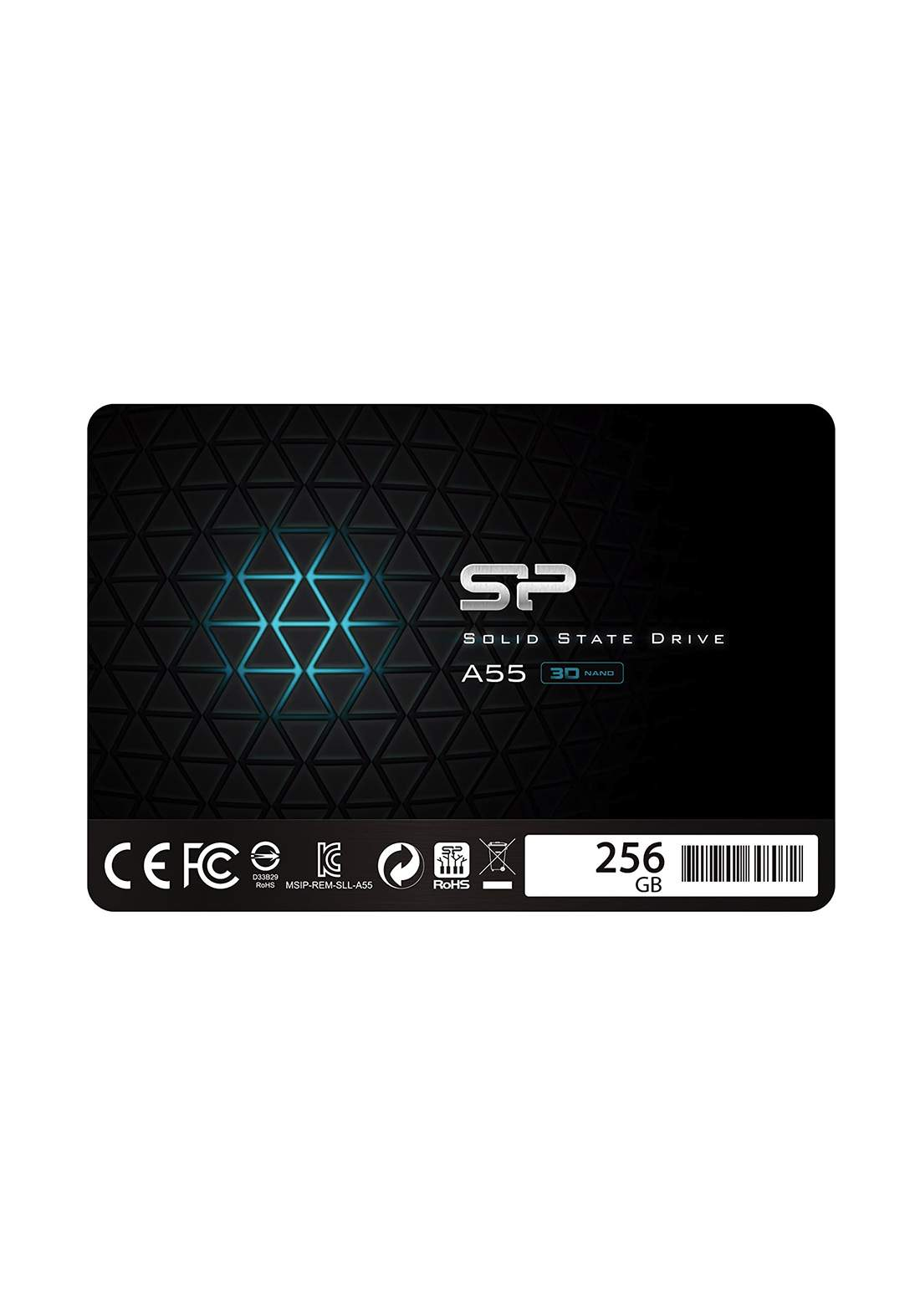 "Silicon Power 256GB 2.5"" Internal Solid State Drive - Black هارد داخلي"