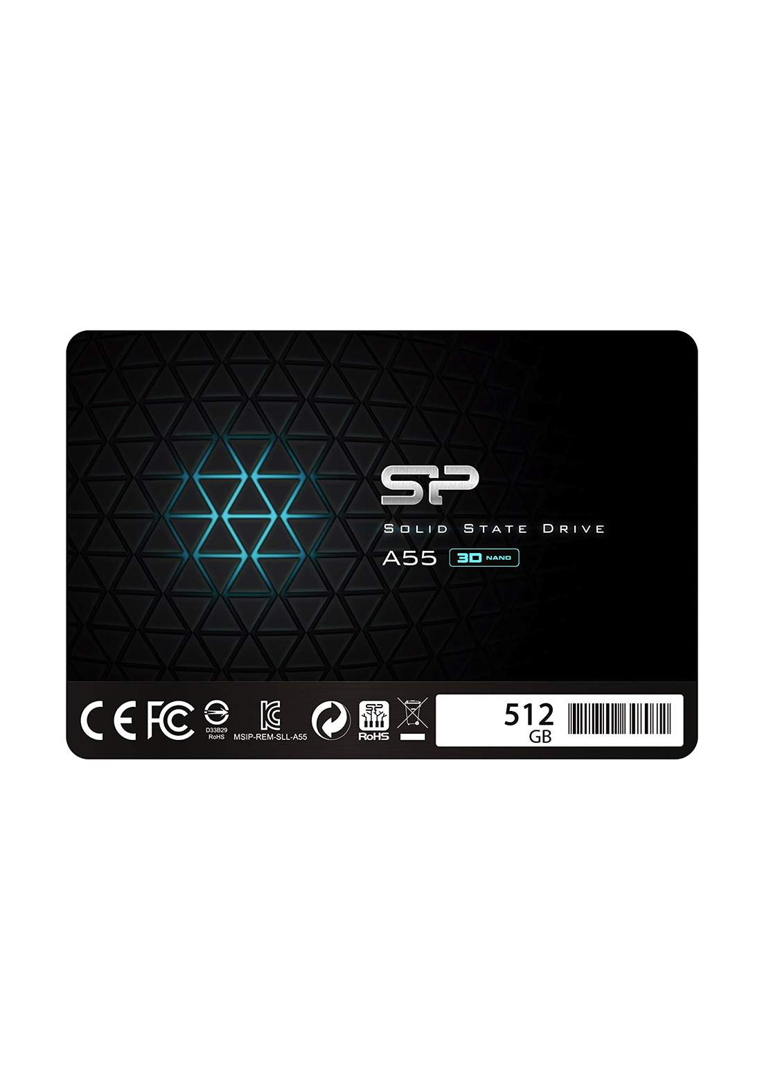 "Silicon Power 512GB 2.5"" Internal Solid State Drive - Black هارد داخلي"