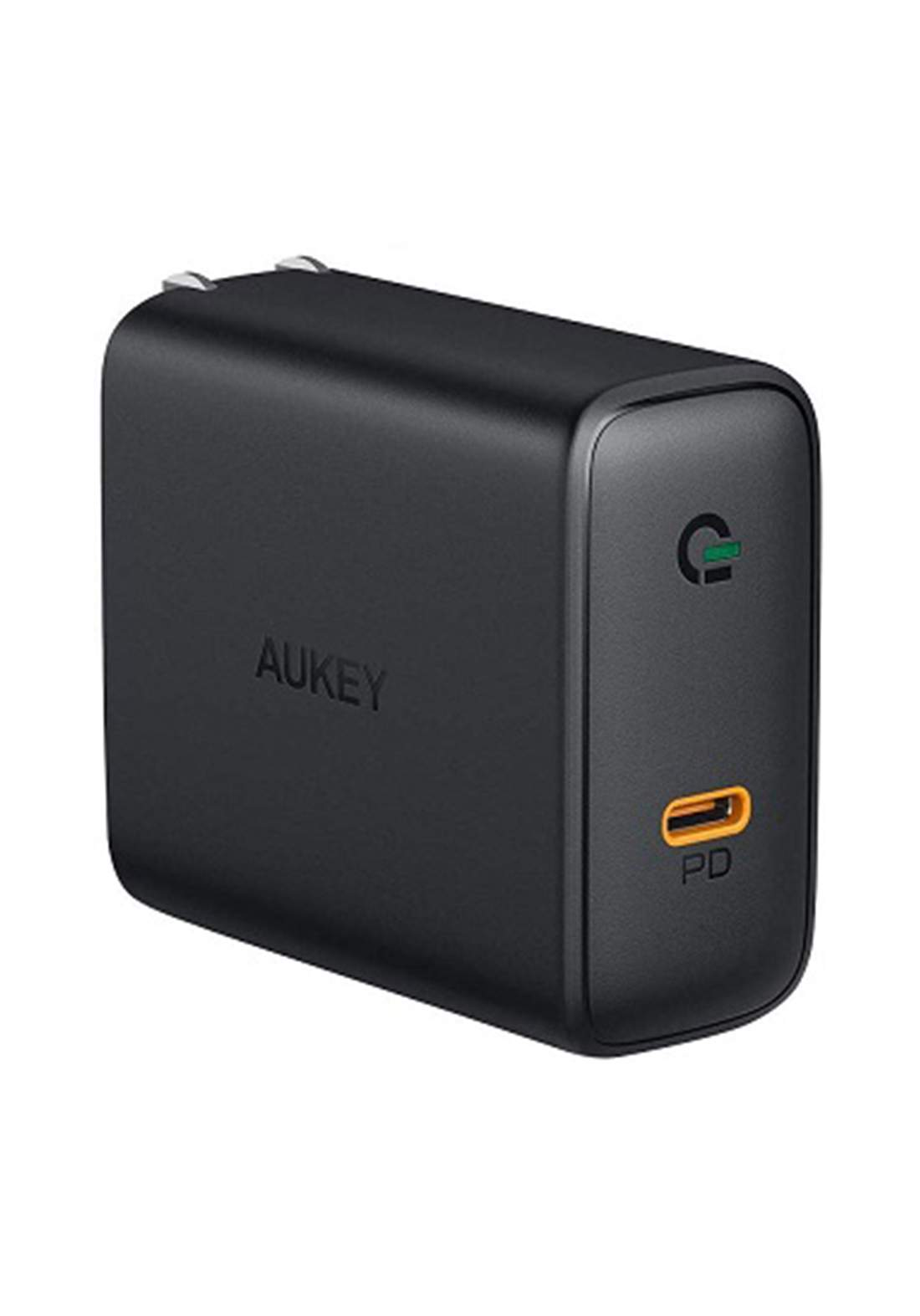AUKEY PA-D4  60W USB-C Power Delivery Charger with GaN Power Tech  - Black  شاحن