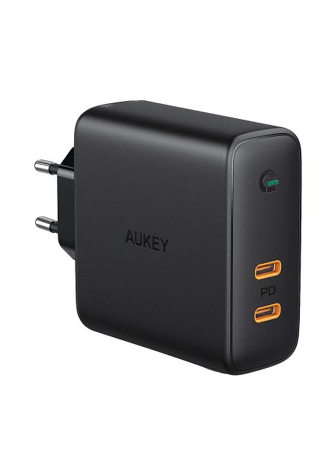Aukey PA-D5 63W USB C Power Delivery Charger with Dynamic Detect  - Black   شاحن