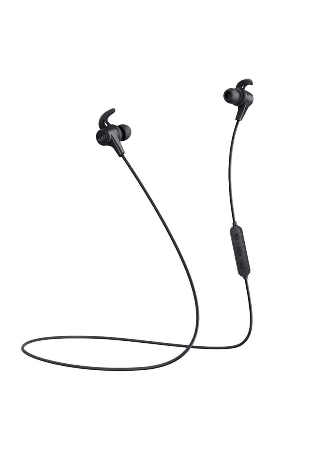 Aukey EP-B40S Latitude Lite  Wireless  Bluetooth Earbuds - Black  سماعة