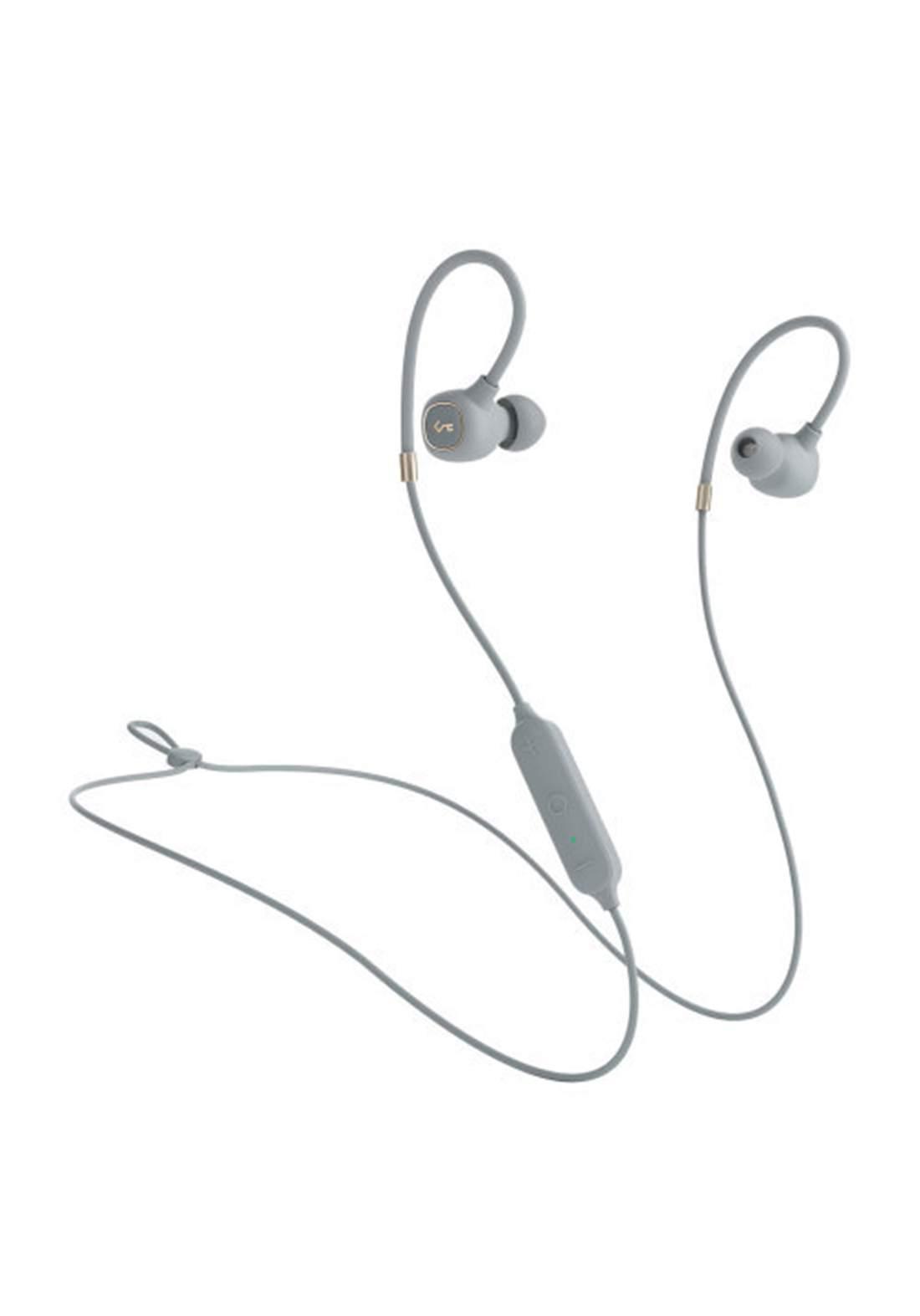 Aukey EP-B80  Hybrid Dual-Driver Wireless Earbuds -  Gray  سماعة
