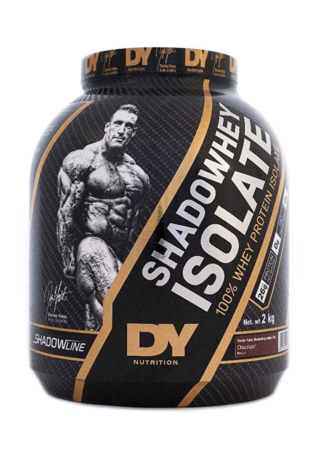 Dy Nutrition Shadowhey Isolate Whey ProteinChocolate Flavor 2 Kg بروتين بنكهة الشوكولاتة