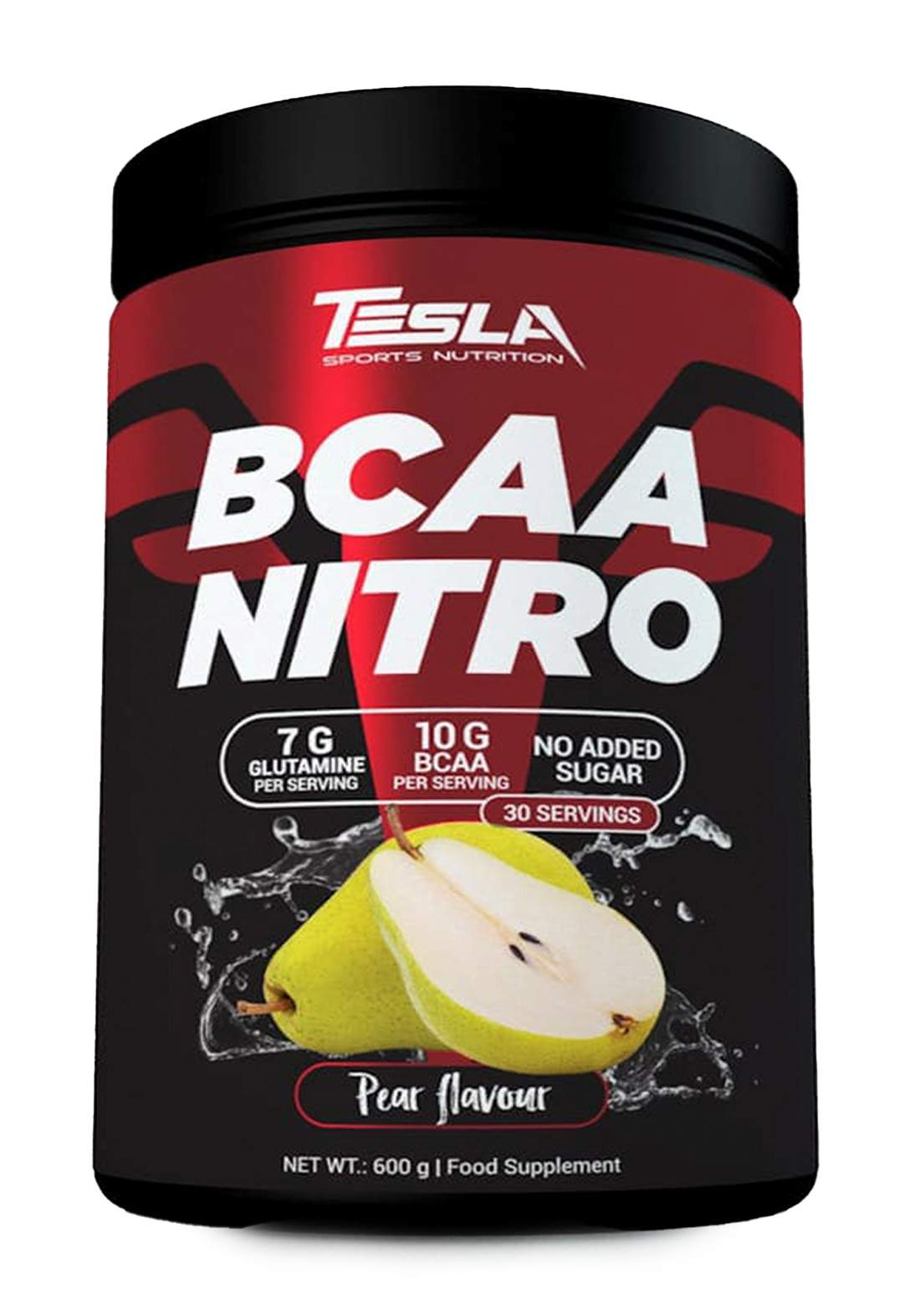 Tesla Bcaa Nitro Powder 600gr مكمل غذائي