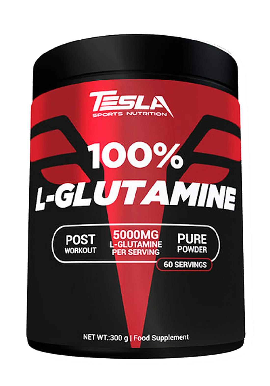 Tesla L Glutamine 500gr مكمل غذائي