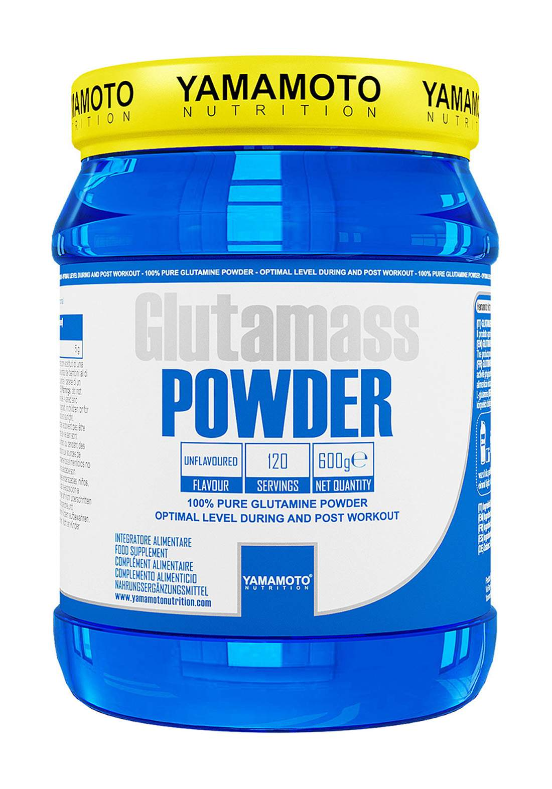 Yamamoto Glutamass Powder 600 Grams مكمل غذائي
