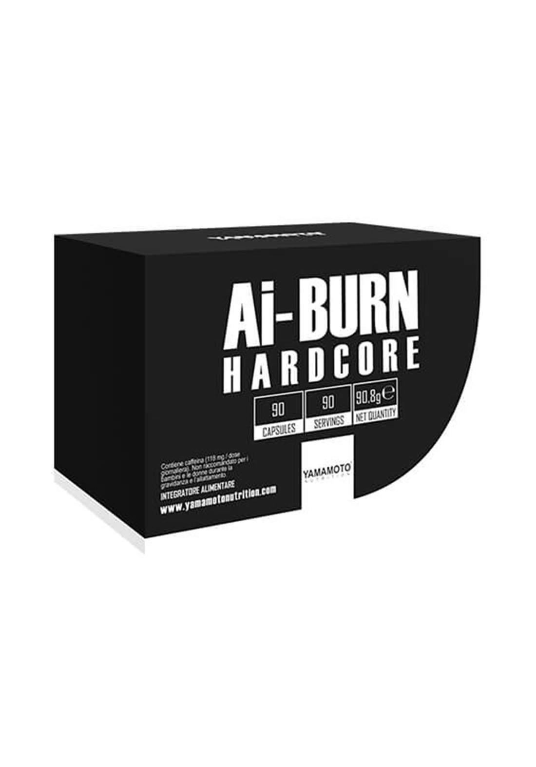 Yamamoto Ai-Burn Hardcore 90 Capsules  حارق دهون