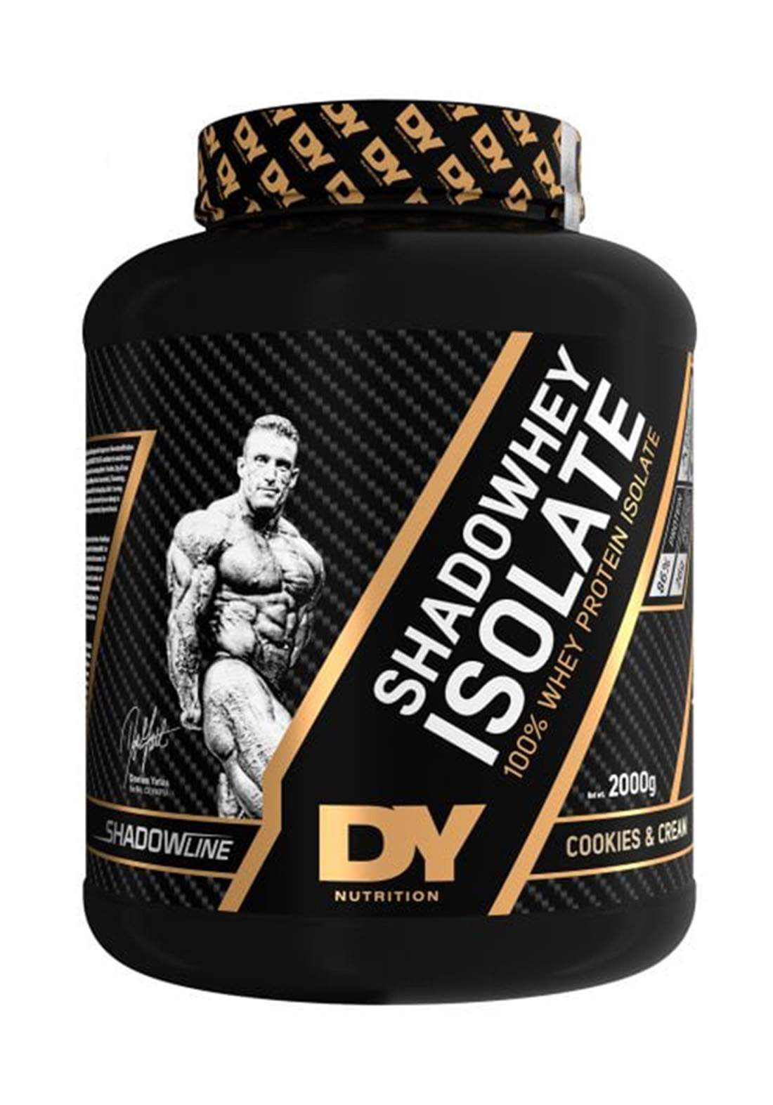 Dy Nutrition Shadowhey Isolate Whey ProteinCookies & Cream 2 Kg بروتين بنكهة الكعك والكريمة