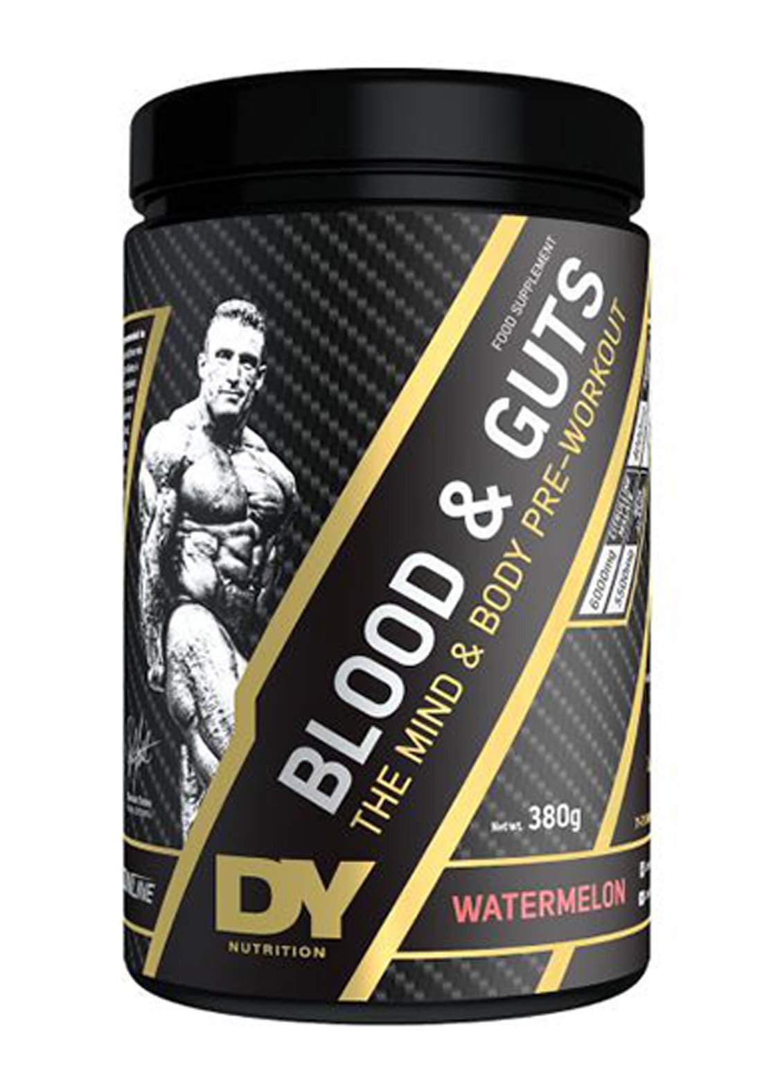 Dy Nutrition Blood And Guts Watermelon  Flavor 380g مكمل غذائي بنكهة البطيخ الأحمر