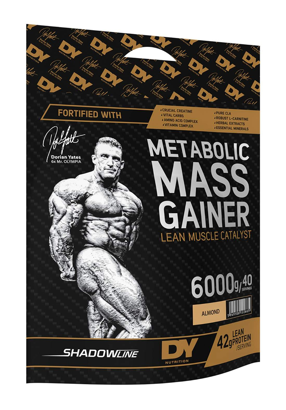 Dy Nutrition Metabolic Mass Gainer 6000g مكمل غذائي