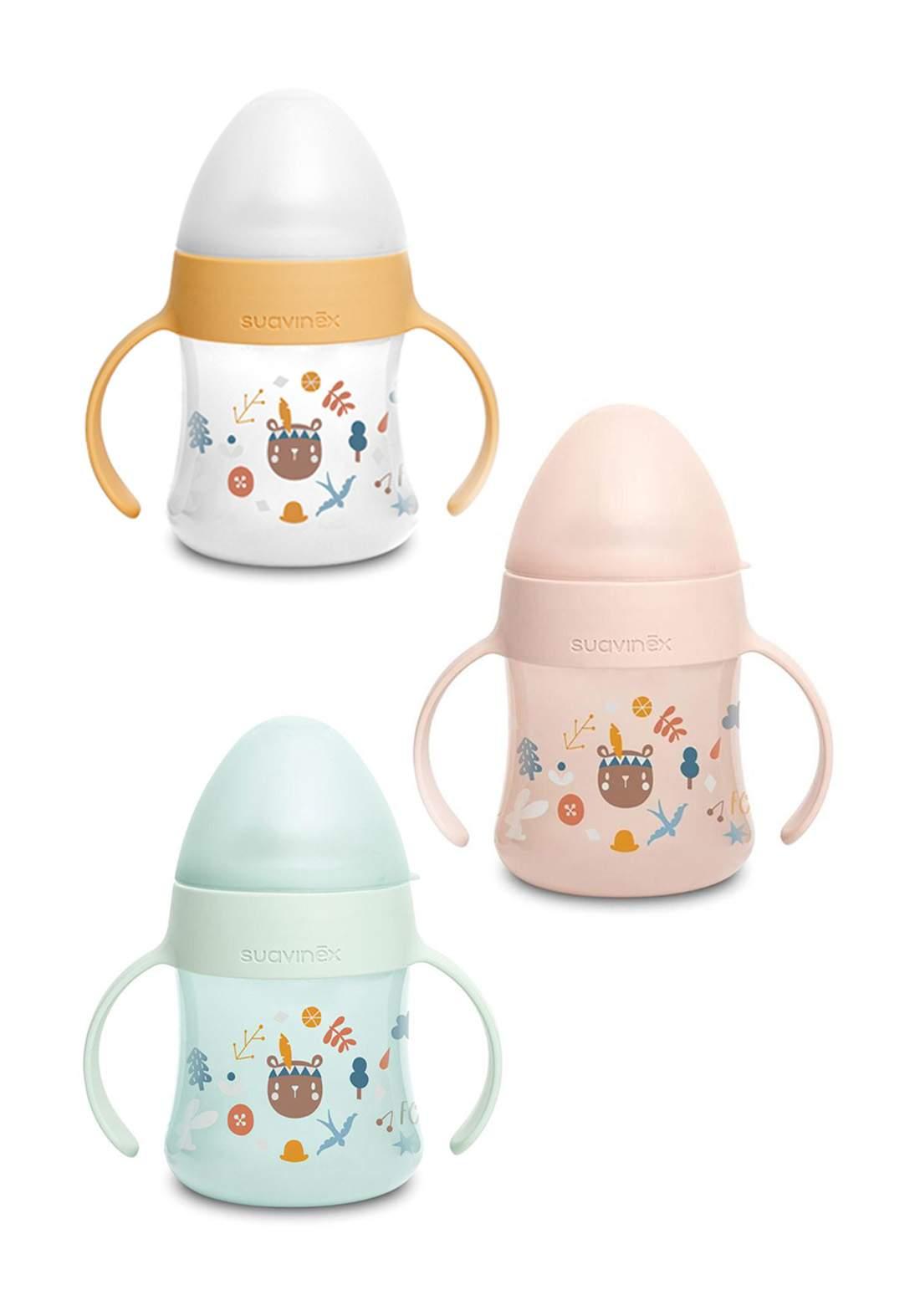 Suavinex Anti Spill Baby Learning Bottle 150 ml قدح للاطفال