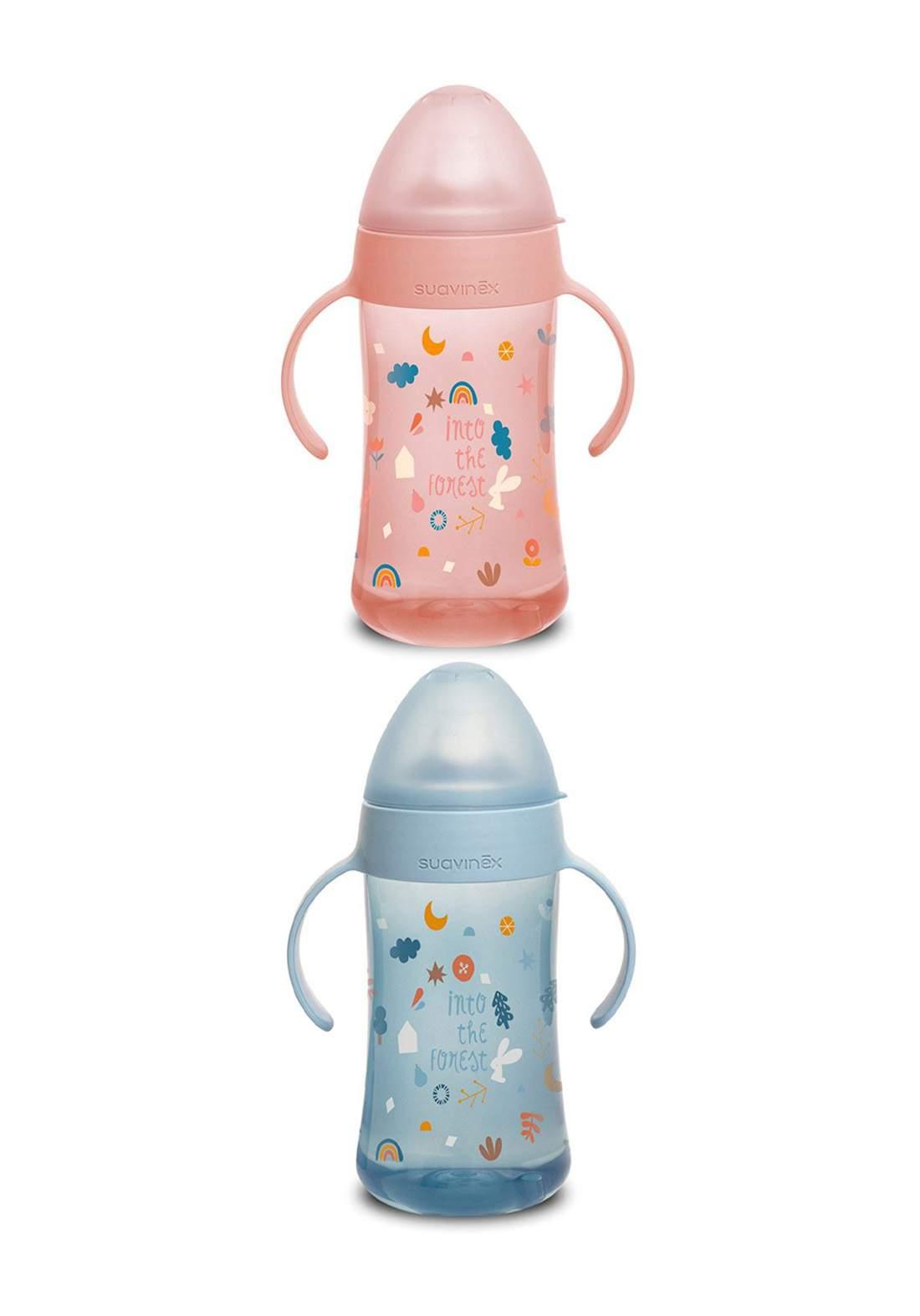 Suavinex Anti Spill Baby Learning Bottle 270 ml قدح للاطفال
