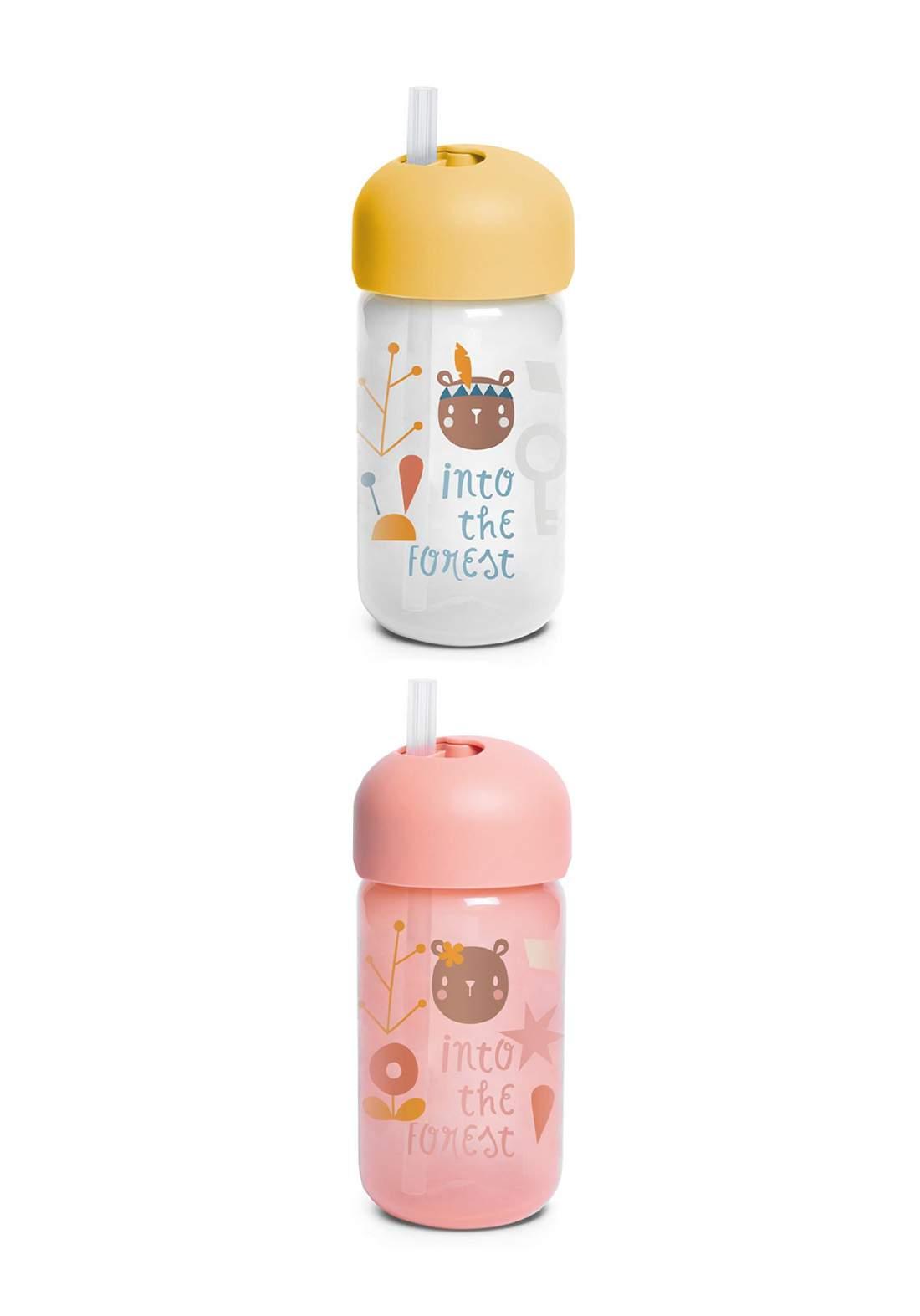 Suavinex Baby Bottle With Straw 340 ml قدح للاطفال