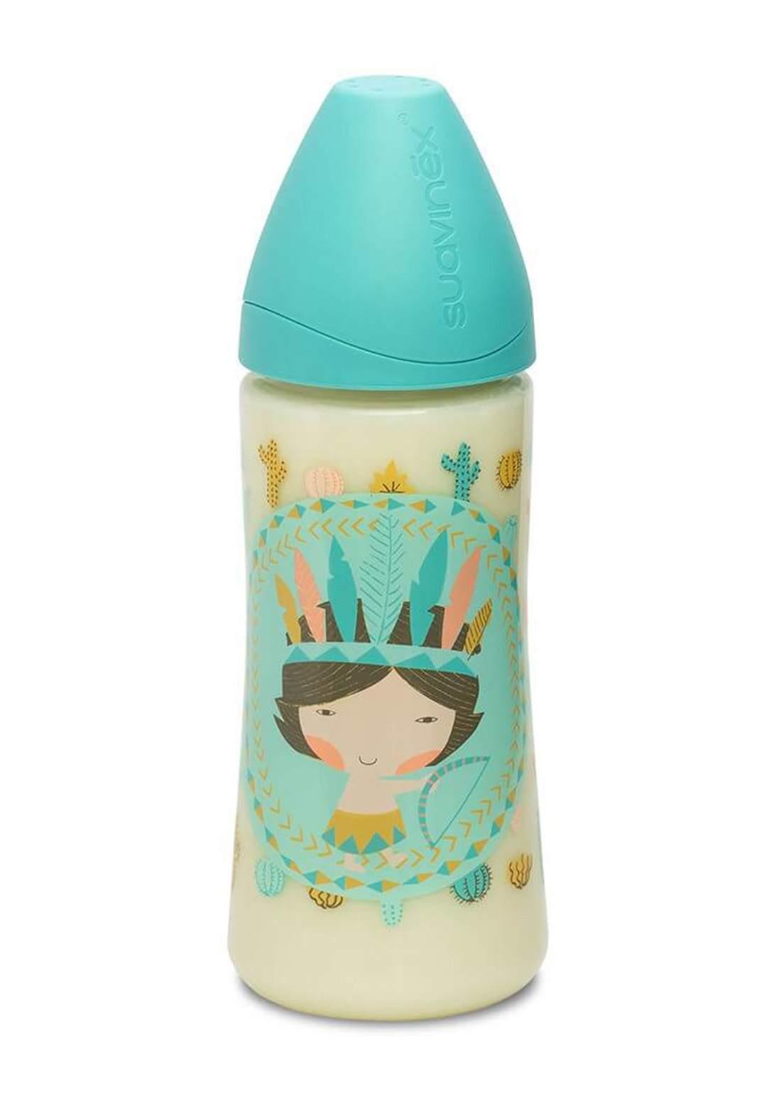 Suavinex Physiological Feeding Bottle 360 ml  رضاعة اطفال