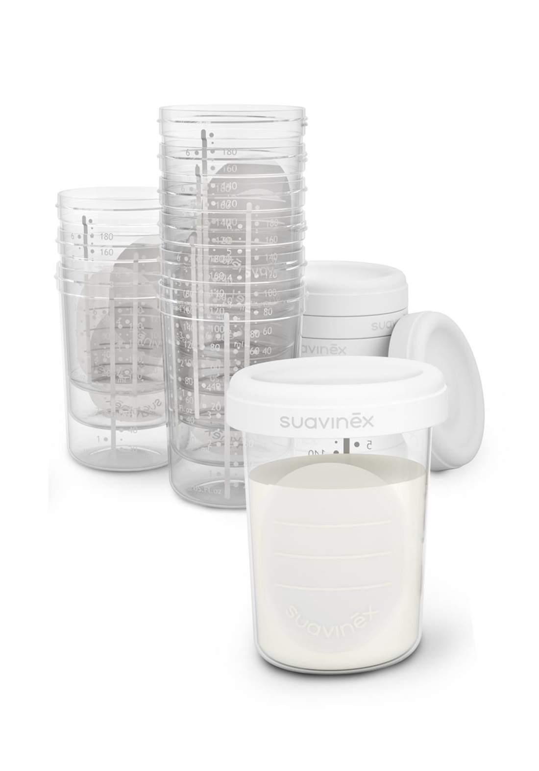 Suavinex Storage Containers علب تخزين الحليب 10 قطع