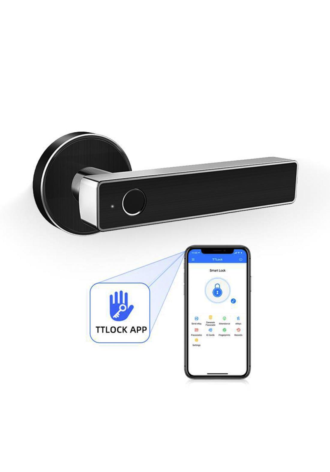 Electric Smart Lock For Doors مقبض باب الكتروني