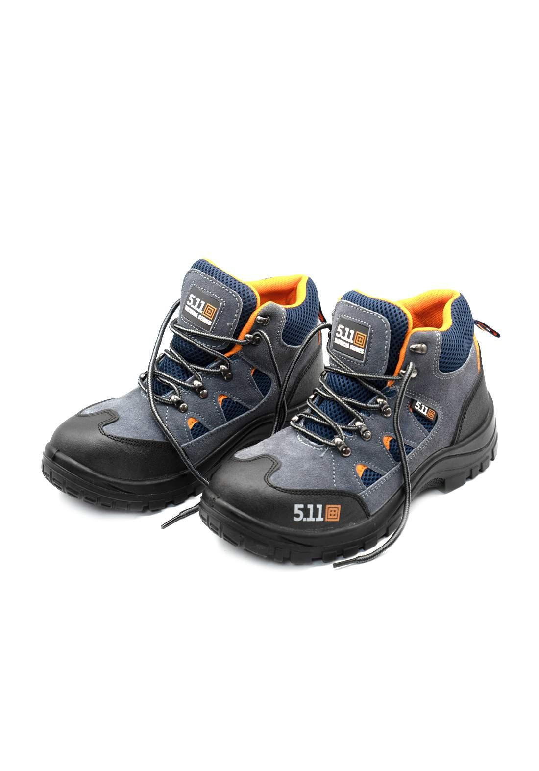Subul Alhurra Safety Shoes Low Cut  Gray حذاء السلامة للعمل