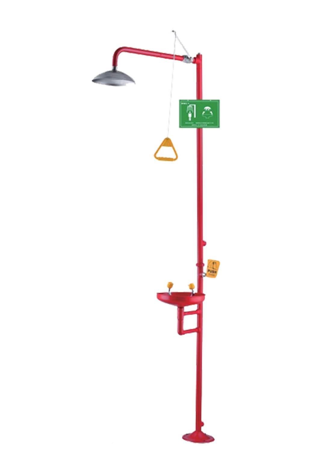 Subul AlHurra Emergency Shower and Eye Wash Station دوش الطوارئ