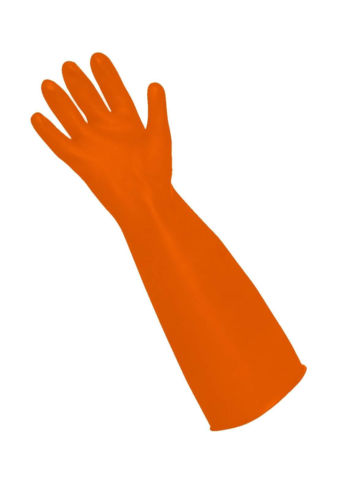 Subul AlHurra Acid Paws قفازات حامضية بلون برتقالي