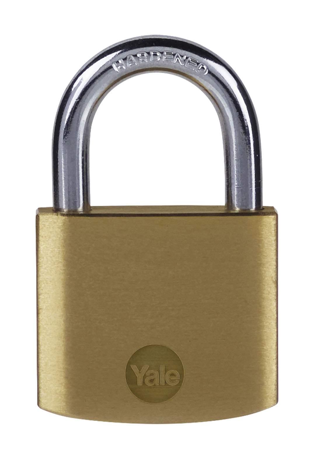 Yale Y110B/40/122/1 Padlock Brass 40 mm قفل للاغراض العامة