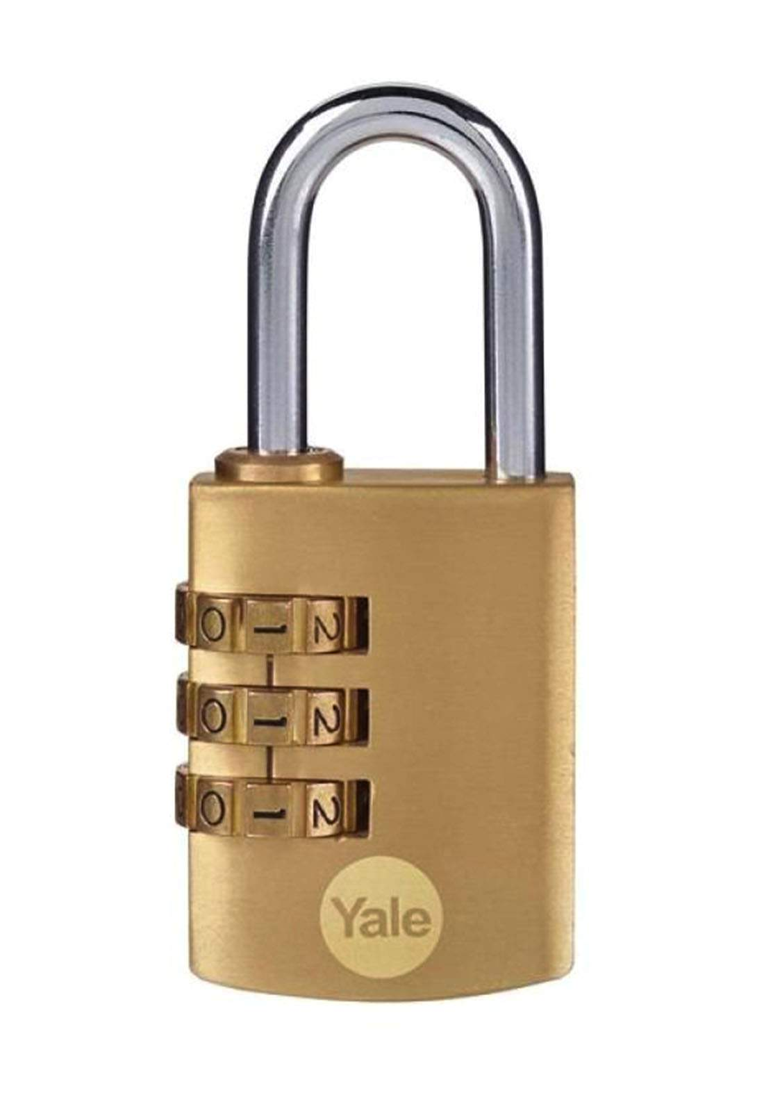 YaleY150B/40/130/1 Padlock Brass 30 mm قفل  برمز رقمي