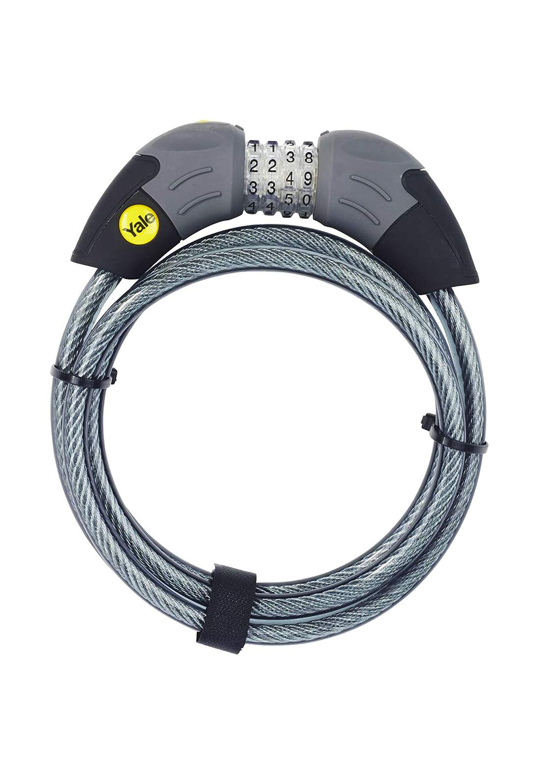 Yale YCC1/10/185/1 Combination Cable Bike Lock 1800 mm قفل دراجة