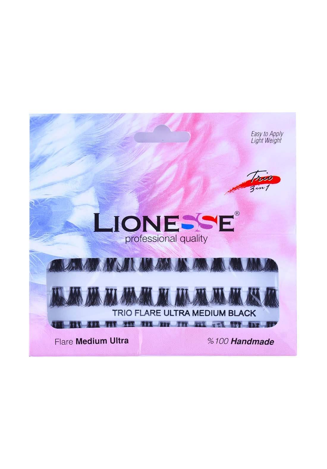 Lionesse Fl-751 Trio 3D Single False Eyelashes رموش مفردة