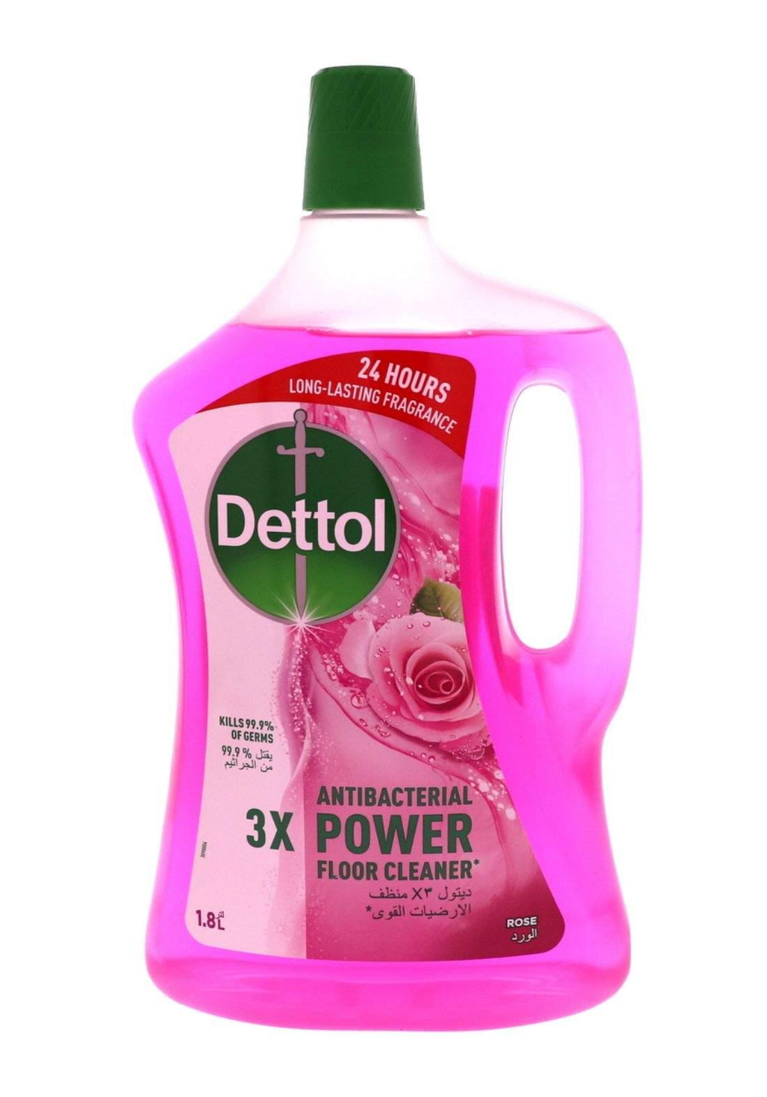 Dettol floor cleaner  1.8 ديتول منظف ارضيات القوي مل