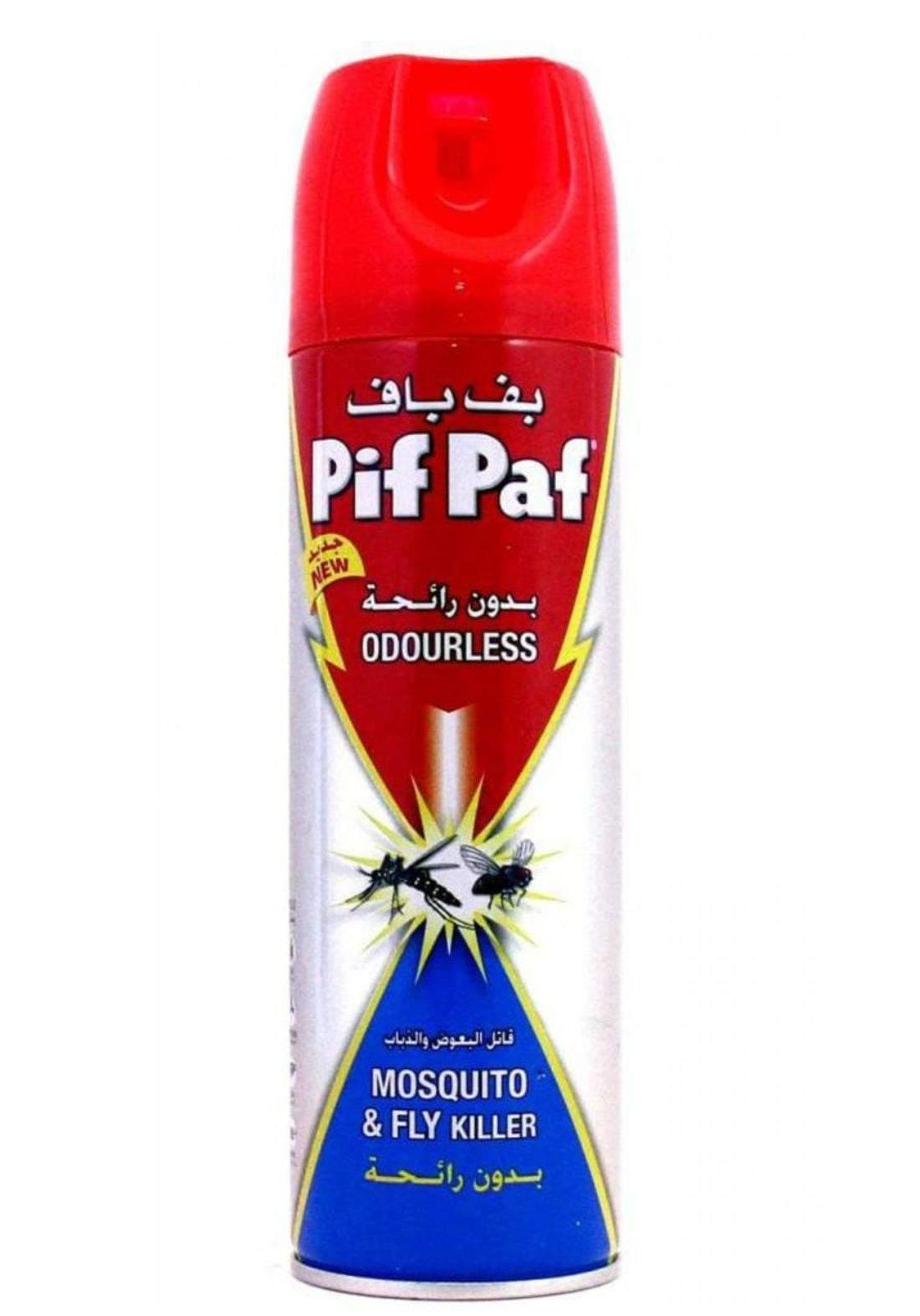 pif paf mosquito & fly killer 300ml بف باف قاتل البعوض والذباب