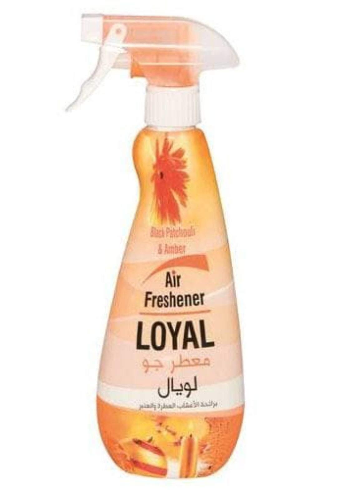 Loyal multi purpose freshener 450ml لويال معطر بخاخ متعدد الاستعمالات