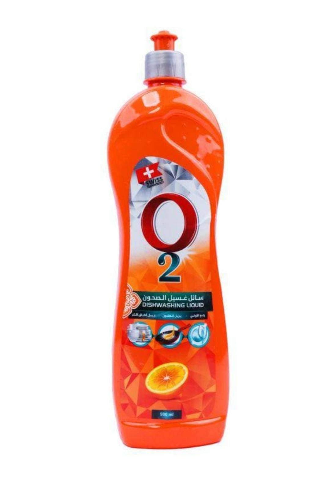 O2 Dishwashing liquid700mlاوتو  سائل التنظيف الاواني