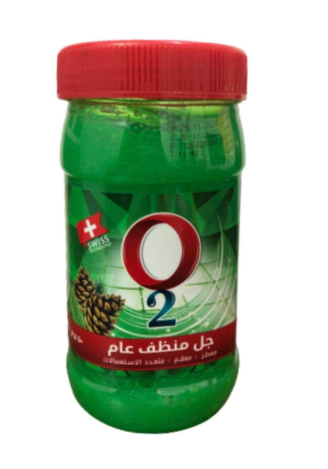 O2 perfumed active cleaner gel 500g او تو جل منظف عام