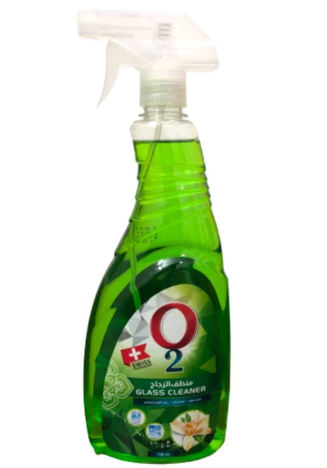 O2 Glass  Cleaner 750ml اوتو  منظف زجاج