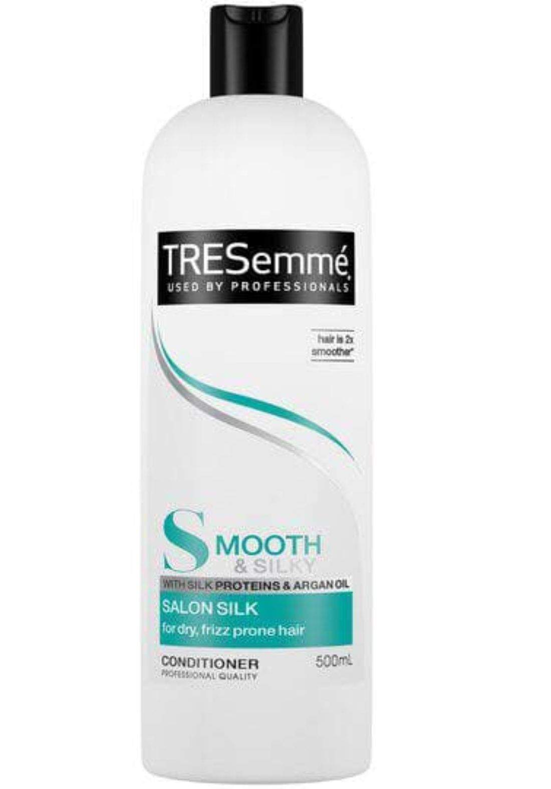 Tresemme  smooth and silk conditioner 500ml  بلسم لشعر ناعم وحريري