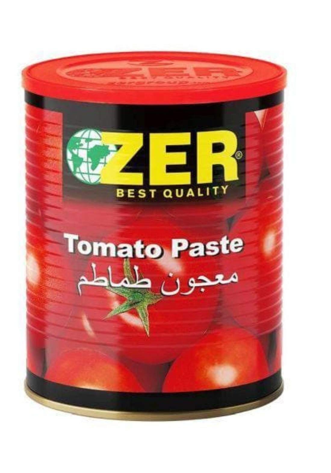 Zer tomato paste 830g زير معجون طماطم